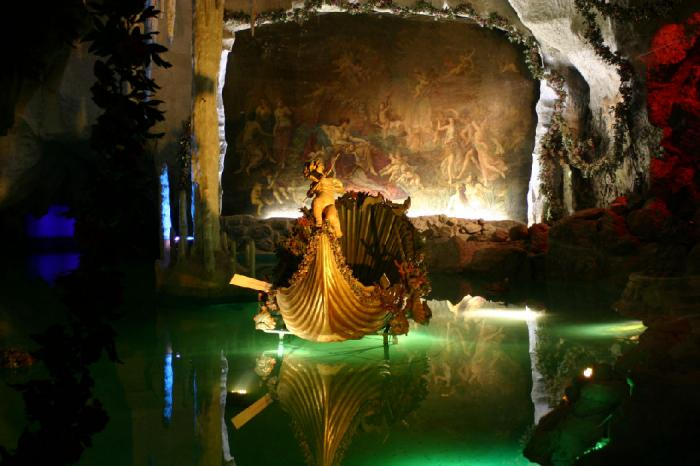 Venus Grotto at Linderhof Palace.