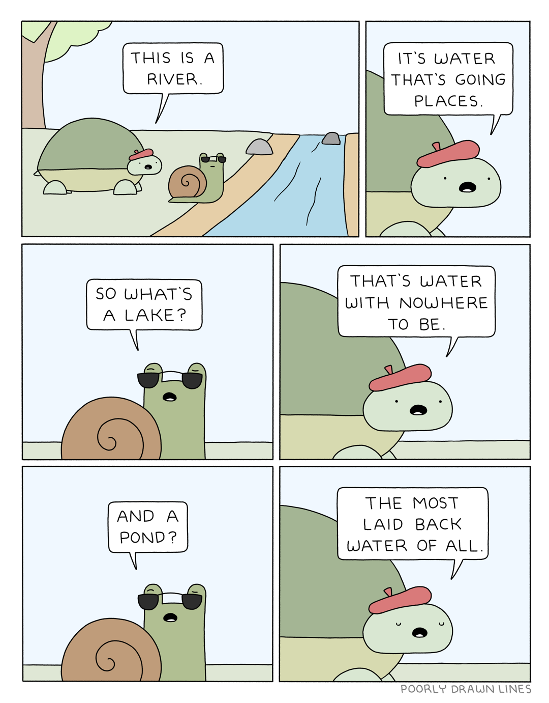 Poorly Drawn Lines -